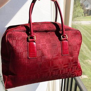 Givenchy Bags - Givenchy Red Vintage Bag